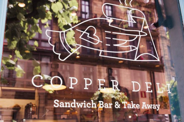 copper deli logo