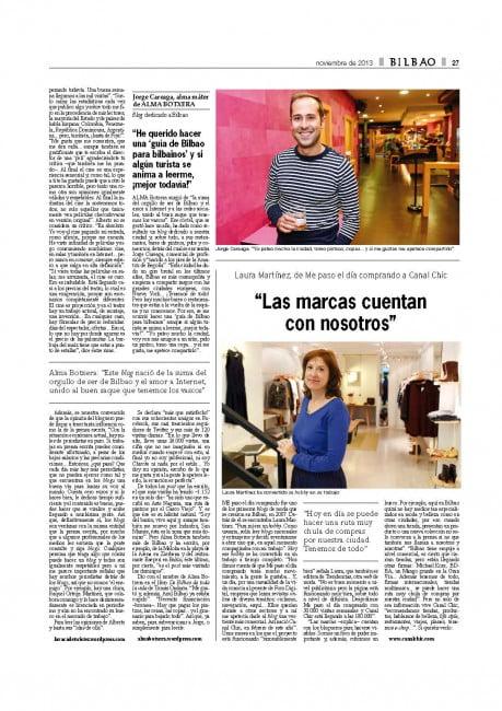 Bilbao blogs
